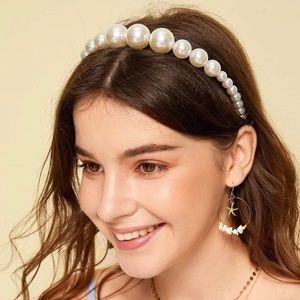 Accessories - Faux pearl headband